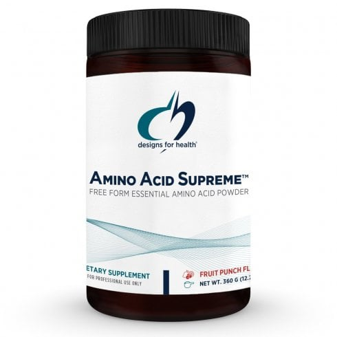 Designs For Health Amino Acid Supreme Fruit Punch Flavour - 210g