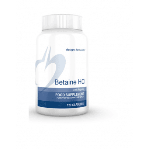 Designs For Health Betaine HCl 120's