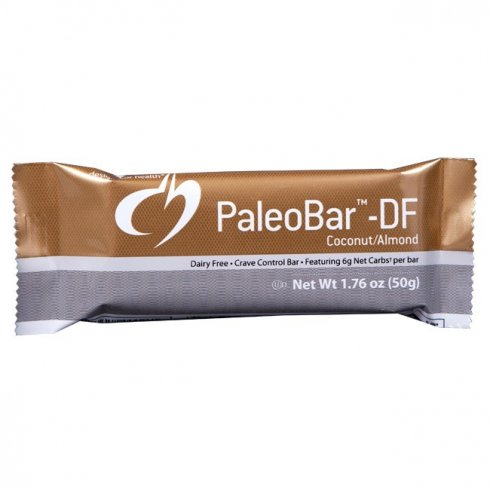Designs For Health PaleoBar Coconut Almond Crave Control Case DAIRY FREE (18 bars)