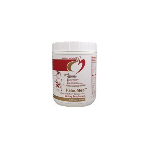 Designs For Health PaleoMeal Strawberry and Banana 540g Powder (Last few remaining)