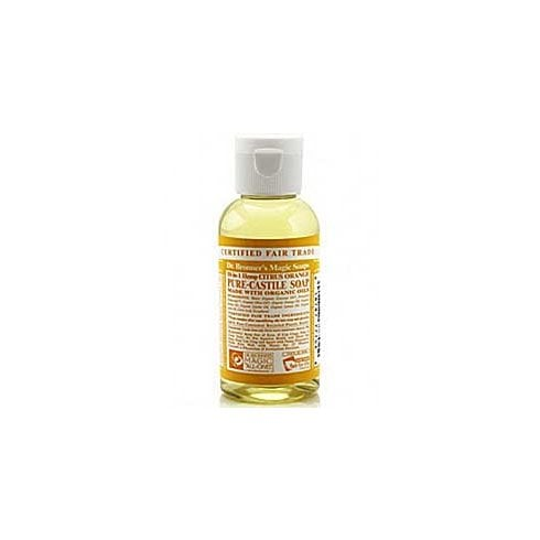 Dr Bronner's Magic Soaps 18-in-1 Hemp Citrus Pure-Castille Liquid Soap 60ml