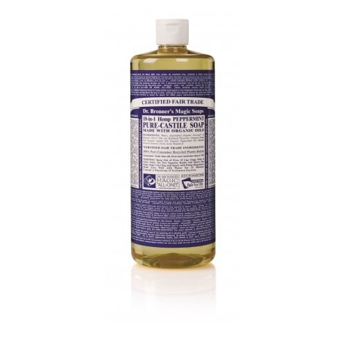 Dr Bronner's Magic Soaps 18-in-1 Hemp Peppermint Pure-Castile Liquid Soap 946ml