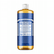 Dr Bronner's Magic Soaps 18-in-1 Hemp Peppermint Pure-Castile Liquid Soap 946ml
