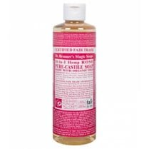 18-in-1 Hemp Rose Pure-Castile Liquid Soap 473ml