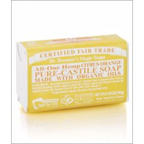All-One Hemp Citrus Pure-Castile Soap 140g