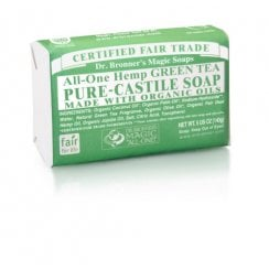All-One Hemp Green Tea Pure-Castile Soap 140g (Currently Unavailable)