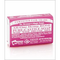 All-One Hemp Rose Pure-Castile Soap 140g