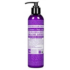 For Hands & Body Organic Lotion Lavender Coconut 237ml