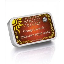 Organic Body Balm Orange Lavender 14g