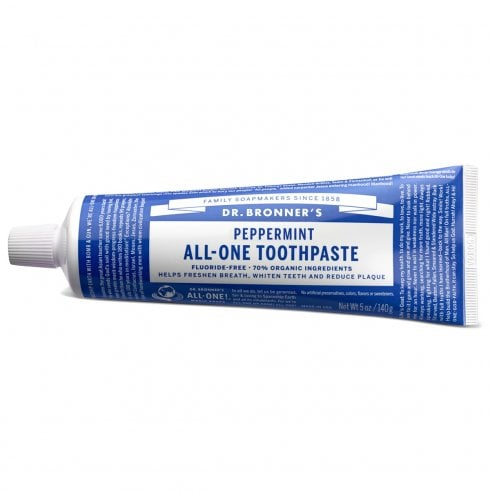 Dr Bronner's Magic Soaps Peppermint All-One Toothpaste 105ml