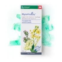 PhytoVitality Liquid Linden Blossom, Elderflower and Thyme  with Vitamin C 250ml