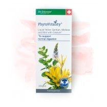 PhytoVitality Liquid Yellow Gentian, Melissa, Mint, Calcium 250ml