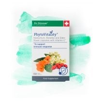 PhytoVitality Nasturtium, Rosehip and Elderflower with Vitamin C 60's