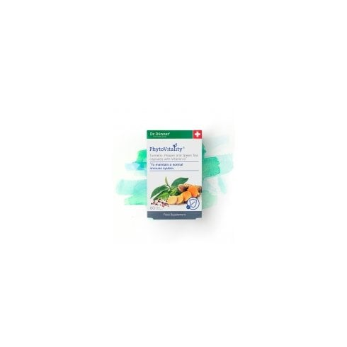 Dr Dunner PhytoVitality Turmeric, Pepper, Green Tea with Vitamin C 60's