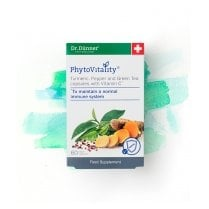 PhytoVitality Turmeric, Pepper, Green Tea with Vitamin C 60's