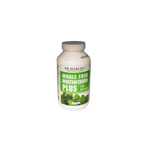 Dr Mercola Whole Food Multivitamin Plus 240's