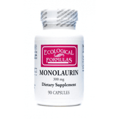Ecological Formulas Monolaurin 300mg (Lauric Acid) - 90 Capsules