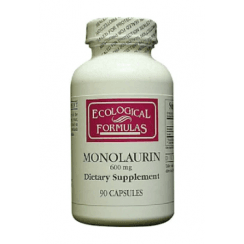 Ecological Formulas Monolaurin 600mg (Lauric Acid) - 90 Capsules