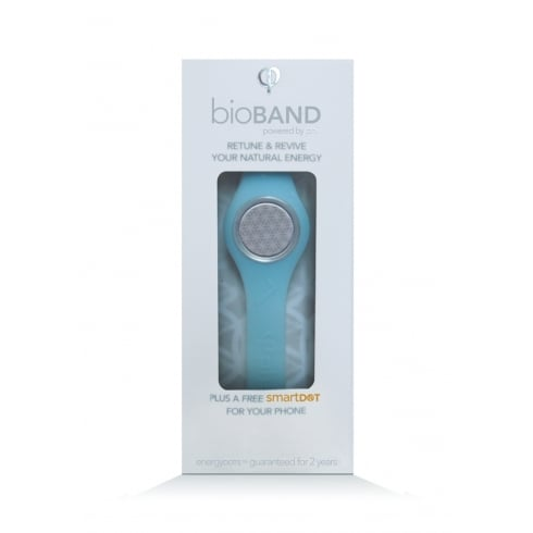 EnergyDOTs bioBAND Starter Pack BLUE - Large (200mm) (plus a free smartDOT)