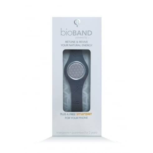 EnergyDOTs bioBAND Starter Pack GREY - Small (160mm) (plus a free smartDOT)