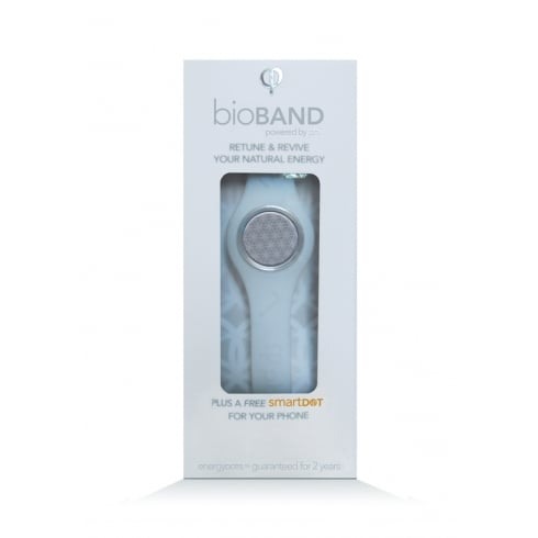 EnergyDOTs bioBAND Starter Pack WHITE - Large (200mm) (plus a free smartDOT)
