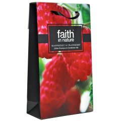 Faith In Nature Raspberry And Cranberry Shampoo And Conditioner Gift Set