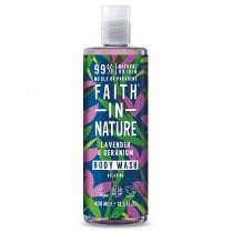 Lavender & Geranium Shower Gel & Foam Bath 400ml