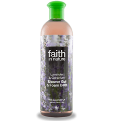 Lavender&Geranium Shower Gel & Foam Bath