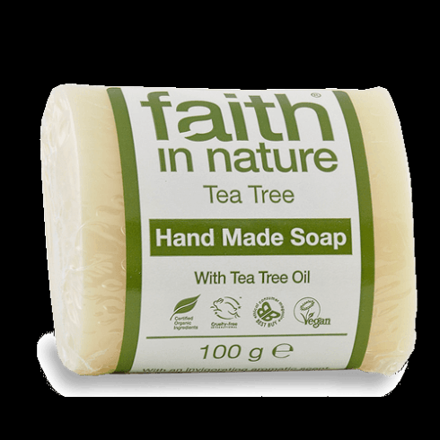 Faith In Nature Tea Tree Hand Made Soap 100g