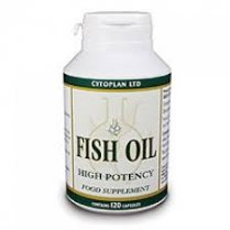 Fish Oil Capsules: High Potency (1000mg / 550mg) 120's