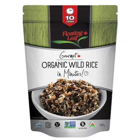 Floating Leaf Organic Wild Rice in Minutes 120g