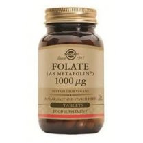 Folate 1000ug (as Metafolin) 120 tablets