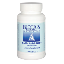Folic Acid 800 (with B12) 180's