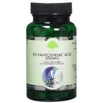B5 Pantothenic Acid 500mg