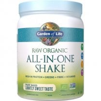 Raw Organic All-In-One Shake Lightly Sweet 519g