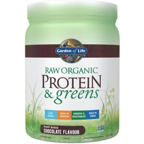 Garden of Life Raw Organic Protein and Greens Chocolate 458g