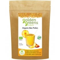 Golden Greens Organic Bee Pollen 200g