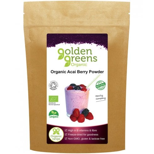 Golden Greens (Greens Organic) Organic Acai Berry 50g (Currently Unavailable)