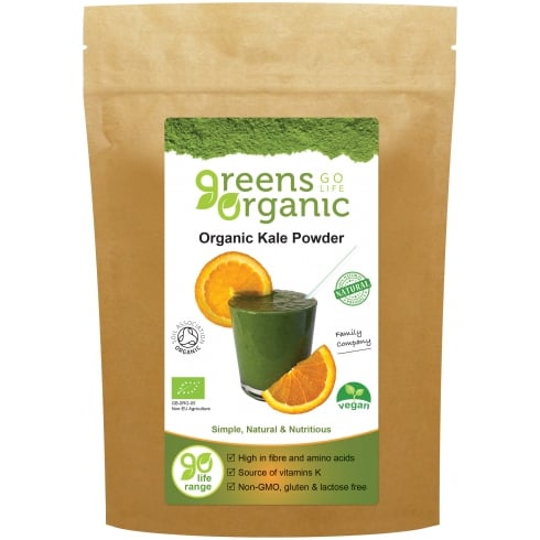 Golden Greens (Greens Organic) Organic Kale Powder 200g