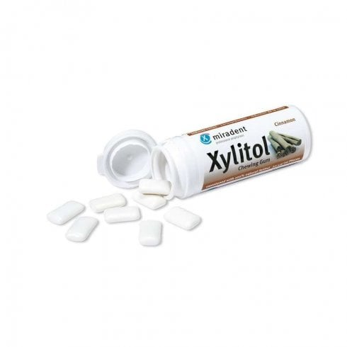 Good Health Naturally Miradent Xylitol Gum Cinnamon 12 x 30's