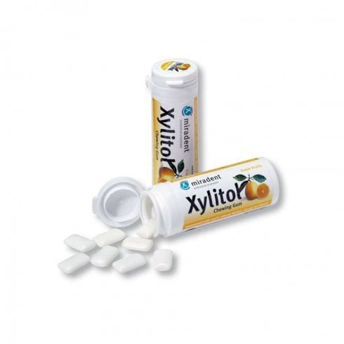 Good Health Naturally Miradent Xylitol Gum Fresh Fruit 30's
