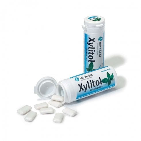 Good Health Naturally Miradent Xylitol Gum Peppermint 30's