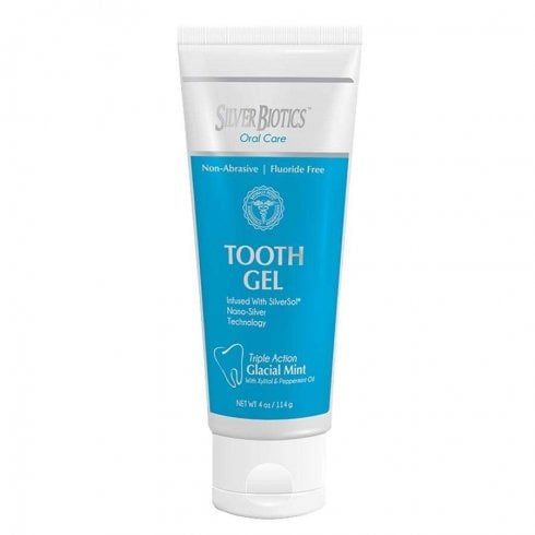 Good Health Naturally Silver Biotics Tooth Gel 114ml