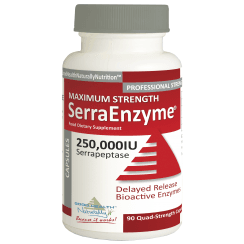 Serra Enzyme 250,000iu Maximum Strength 90's
