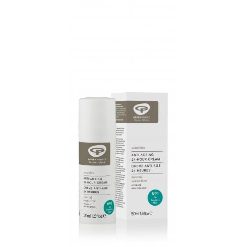 Green People Anti Ageing 24-Hour Cream Neutral (Sensitive) 50ml