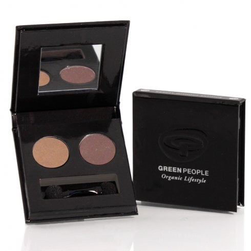 Green People Night Forest Eye Duo (Tawny Owl Taupe & Mink Brown)