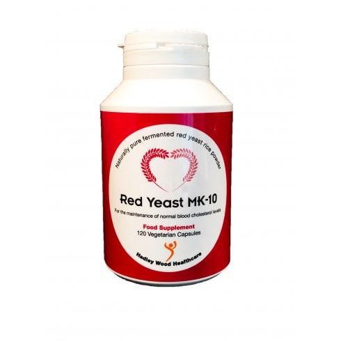 Hadley Wood Healthcare Red Yeast MK-10 120's