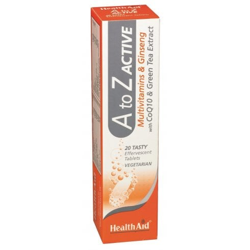 Health Aid A to Z Active 20's