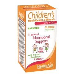 Children's MultiVitamin & Minerals Tutti-fruity flavour 30's