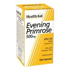 Evening Primrose Oil 500mg with Vitamin E 180's